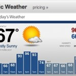 Screenfeed Basic Weather Channel