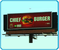 McDonald's Angus Burger Billboard