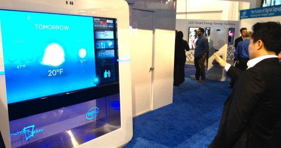 Intel Gesture Display