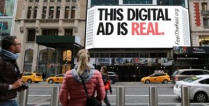 Feel the Real Digital Ad