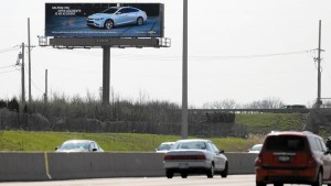 Chevy's billboard targets its message with vehicle-recognition technology, which is really cool