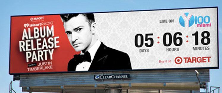 Justin Timberlake Billboard