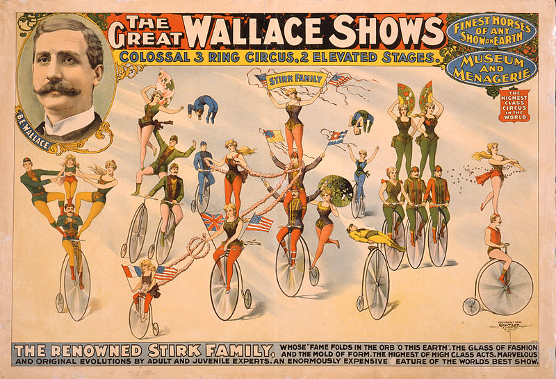 The Great Wallace Shows Poster