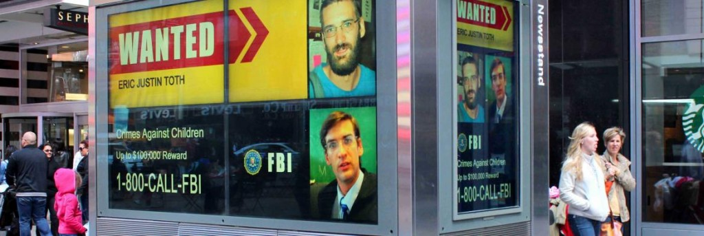 The FBI is using digital out-of-home media to catch criminals